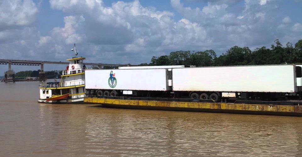 Read more about the article Transporte de Carga em balsas Manaus x Porto Velho