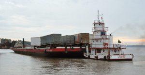 Transporte Fluvial de Cargas na Amazônia