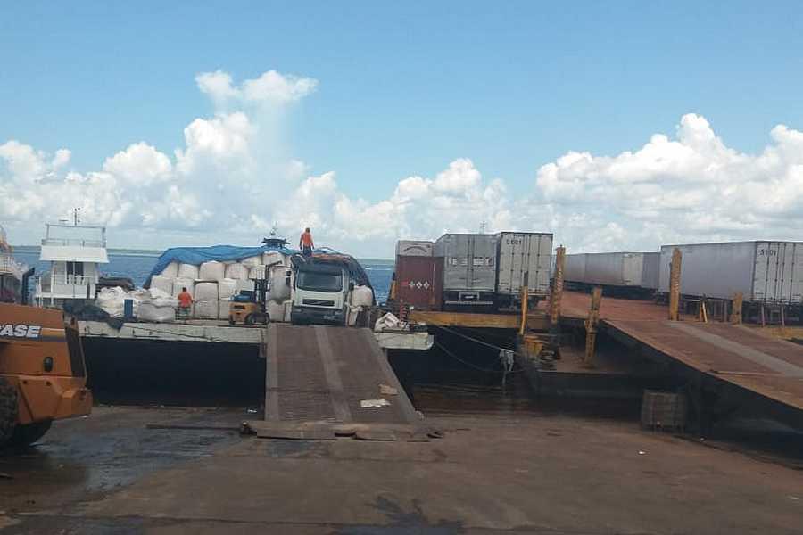 Read more about the article Transporte de Carga em Balsas Manaus x Coari